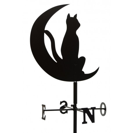 Girouette - Chat Lune + mat1