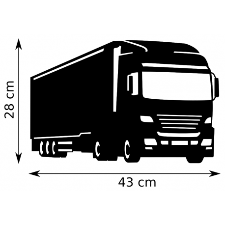 Girouette - Camion - Dimension