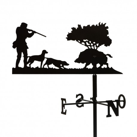 Girouette - Chasseur Chiens Sanglier - Mat 1